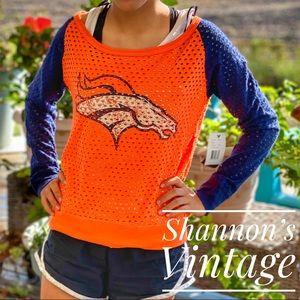 NWT NFL Denver Broncos shirt/tank combo A32